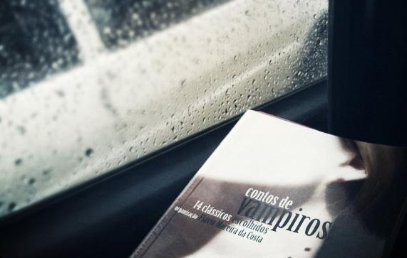 fotos raquel moritz, contos de vampiros, dia de chuva, livro