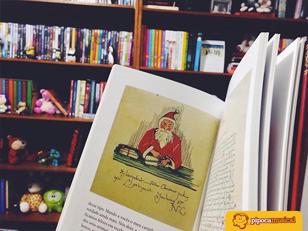 cartas do papai noel tolkien, resenha, livros de natal, pipoca musical