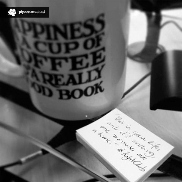 caneca clube da luta, frases clube da luta, quotes fight club, pipoca musical, raquel moritz, coffee mug happiness books, i love books