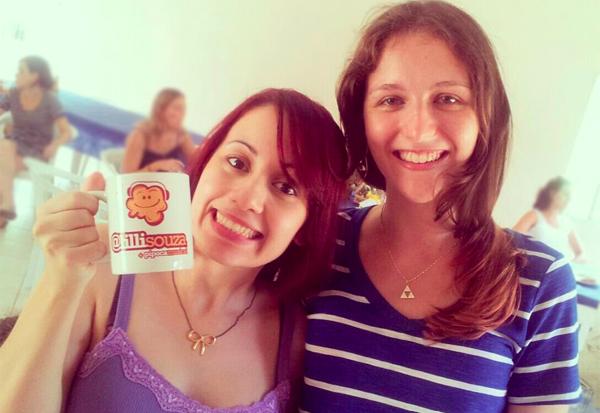 Lílli Souza e Raquel Moritz