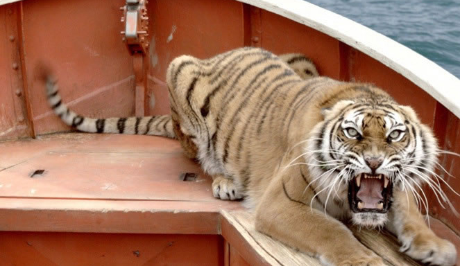 As Aventuras de Pi - Tigre Richard Parker