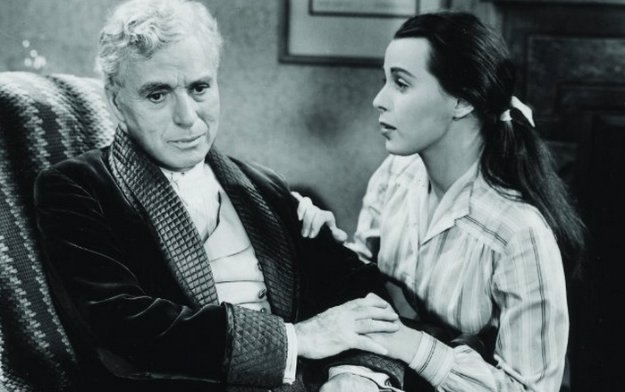 Charlie Chaplin e Claire Bloom em Limelight