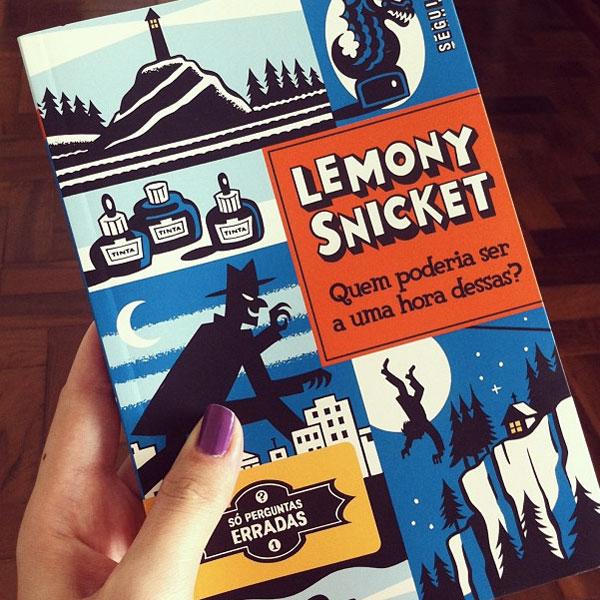 quem poderia ser livro, lemony snicket, raquel moritz