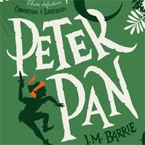 Peter Pan em uma linda edição definitiva, comentada e ilustrada