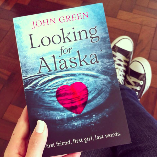 john green, looking for alaska, book cover, raquel moritz