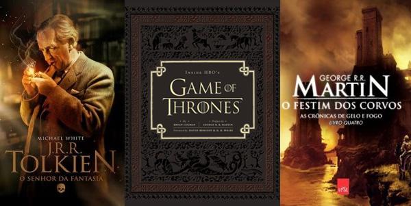 guerra dos tronos, guia da série game of thrones hbo, livro do tolkien biografia