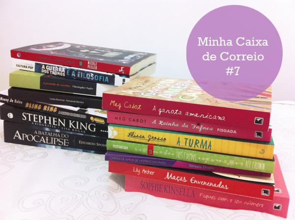 livros ali cronin, livros legais, biografia stephen king, raquel moritz, bling ring, livros adolescentes, dicas de livros