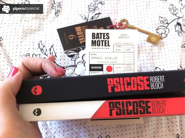chave bates motel, bates motel quarto 6, robert bloch livro, livros darkside books, pipoca musical, raquel moritz, livro psicose