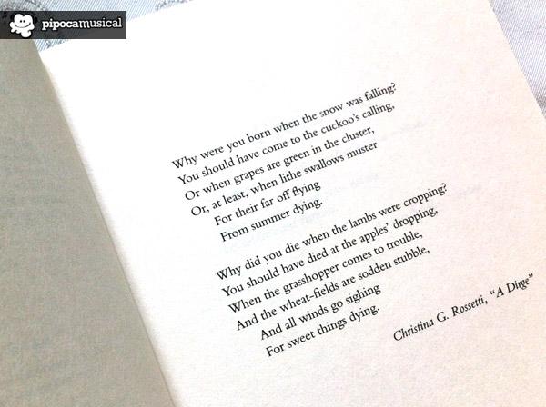 The Cuckoo's Calling, O Chamado do Cuco, Robert Galbraith, JK Rowling, Lula Landry, Pipoca Musical, Poem Christina Rossetti