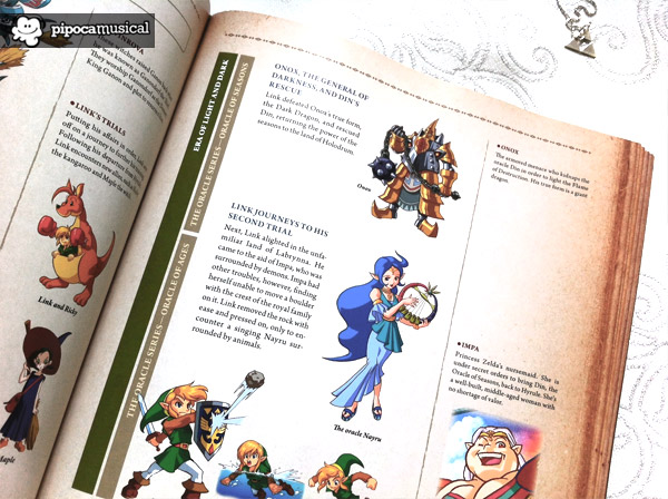 hyrule historia, 25 anniversary zelda, book hyrule historia, pipoca musical, the legend of zelda, the oracle series zelda, deusa nayru