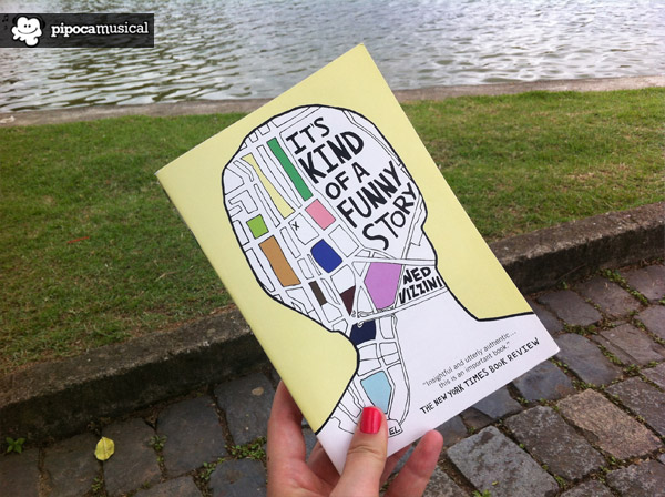 its kind of a funny story book, book ned vizzini, pipoca musical resenhas, raquel moritz