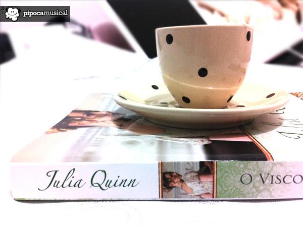 o visconde que me amava, livro julia quinn visconde, resenha livro visconde que me amava, pipoca musical, os bridgertons serie, cha ingles, livros jane austen