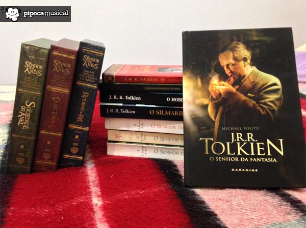 biografia tolkien, tolkien darksidebooks, pipoca musical, senhor da fantasia livro, livros tolkien