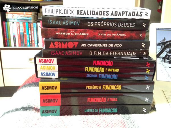 minha caixa de correio pipoca musical, livros pipoca musical, livros ficcao, melhores livros ficcao, livros aleph asimov