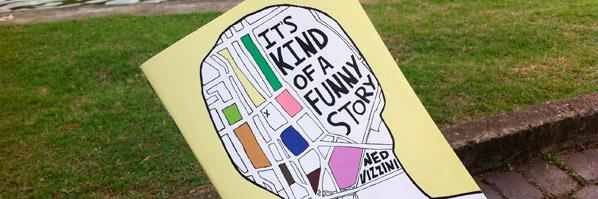 top 10 melhores livros 2013, its kind of a funny story, ned vizzini livros