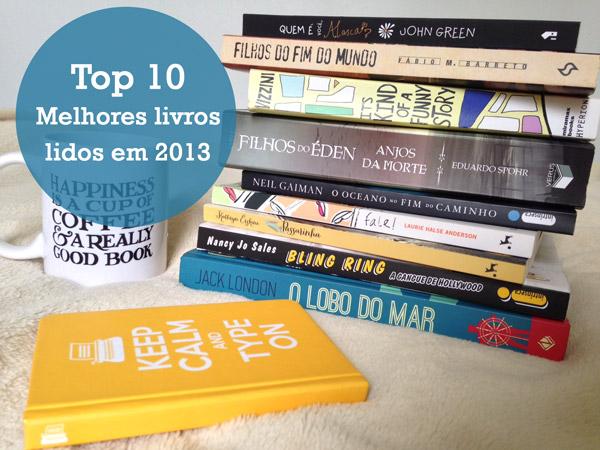 Top 10 Melhores livros de 2013