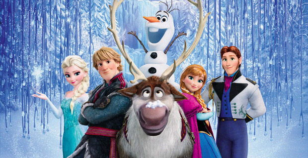 filme frozen personagens