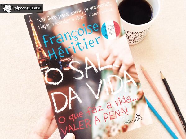 best sellers, sal da vida, livro frances, editora valentina, pipoca musical