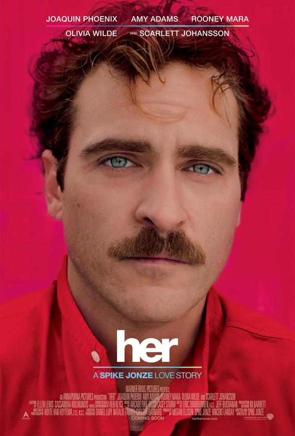 dicas de filme, filmes do oscar, ela, her, spike jonze, oscar 2014