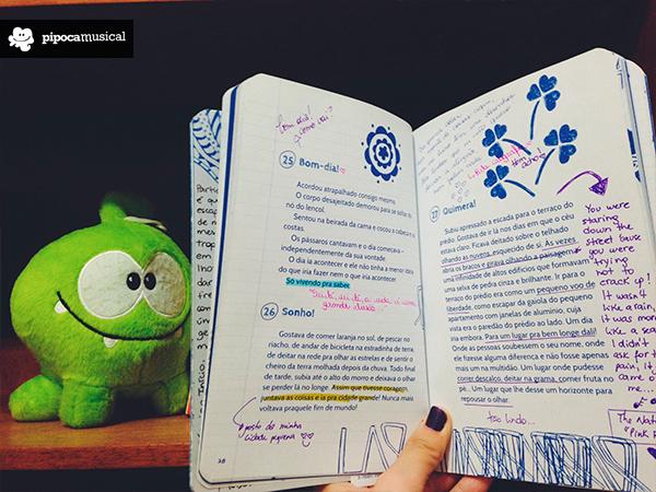 60 contos diminutos, Marília Pirillo, Pipoca Musical, book tour, projeto coleção de experiências, livros rabiscados