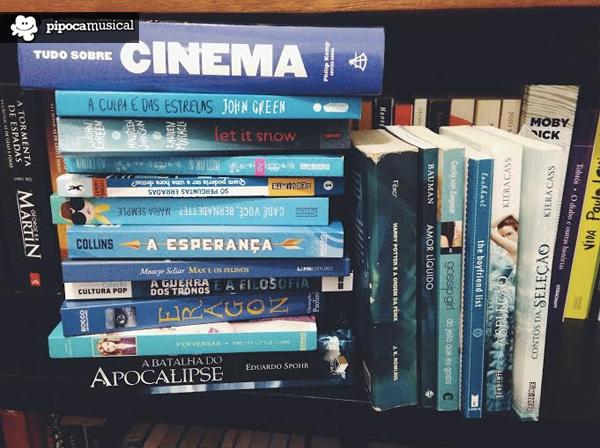 autismo cor azul, livros azuis, livros de capa azul, pipoca musical