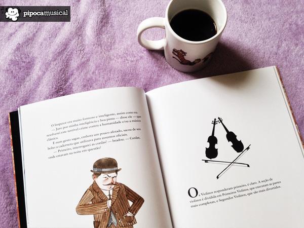 o compositor esta morto, lemony snicket, livro em ingles, livro bilingue snicket, pipoca musical, carson ellis desenhos