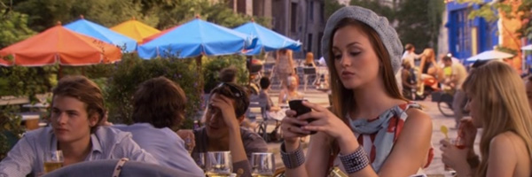 referencias de cinema em gossip girl, belles de jour gossip girl