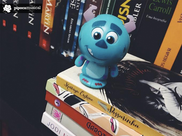 sullivan monstros sa, livros valentina, pipoca musical