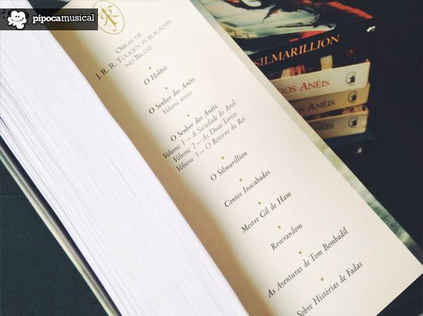 livros do tolkien, pipoca musical