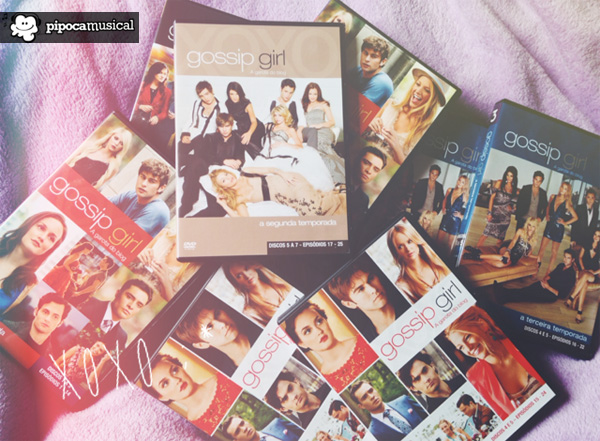 DVDs de Gossip Girl do Pipoca Musical