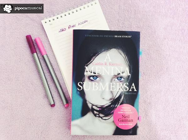a menina submersa, darkside books, pipoca musical, urban fantasy, raquel moritz