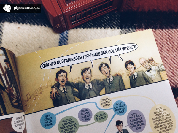 quinto beatle brian epstein, quadrinhos, graphic novel