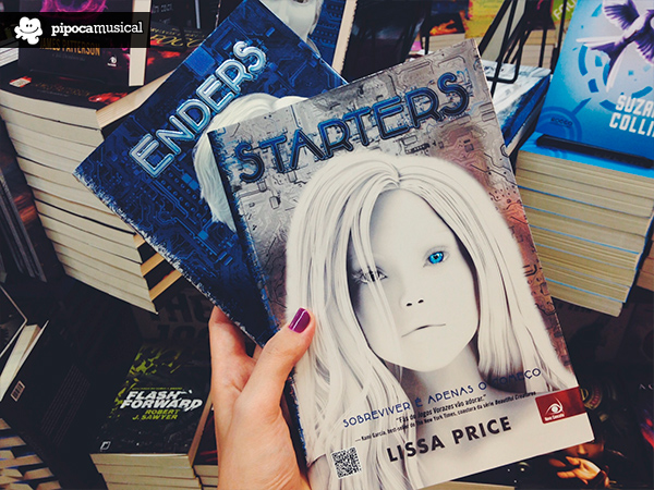 duologia starters enders, lissa price, novo conceito, pipoca musical