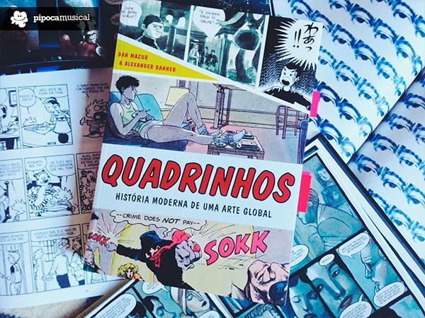 capa historia moderna dos quadrinhos, livro wmf martins, pipoca musical