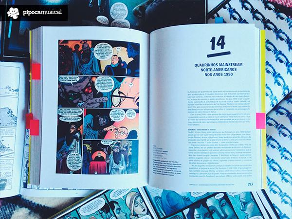 sandman, historia moderna dos quadrinhos, livro wmf martins, pipoca musical