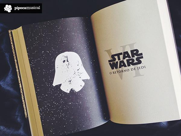 livro star wars, darkside pipoca musical, retorno jedi