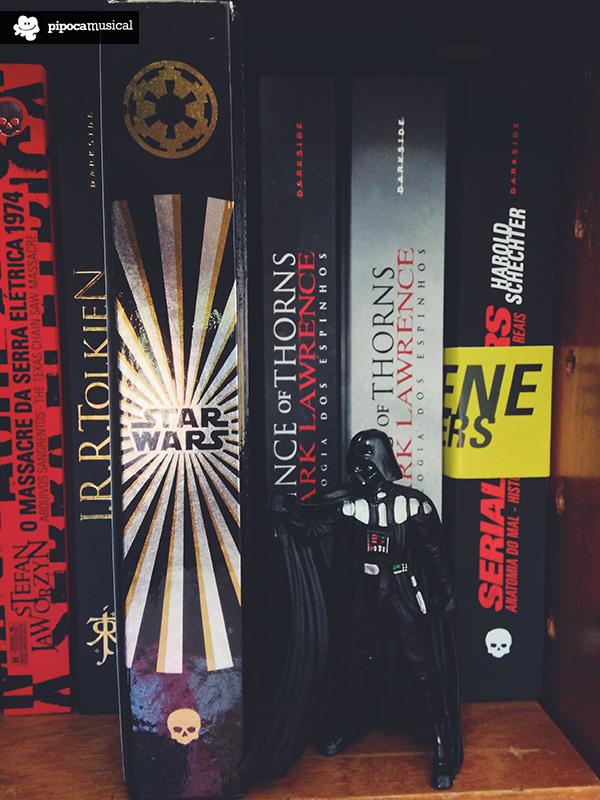 darth vader, livro star wars, darkside pipoca musical