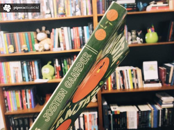 lateral a garota das laranjas jostein gaarder, editora seguinte, livros com cartas, pipoca musical