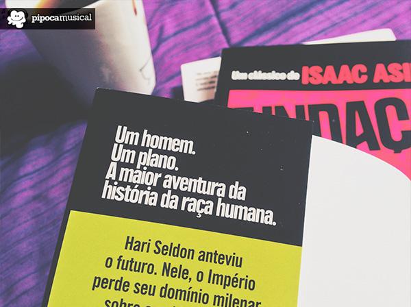 trilogia fundacao asimov, editora aleph, pipoca musical, raquel moritz, livros scifi, hari seldon