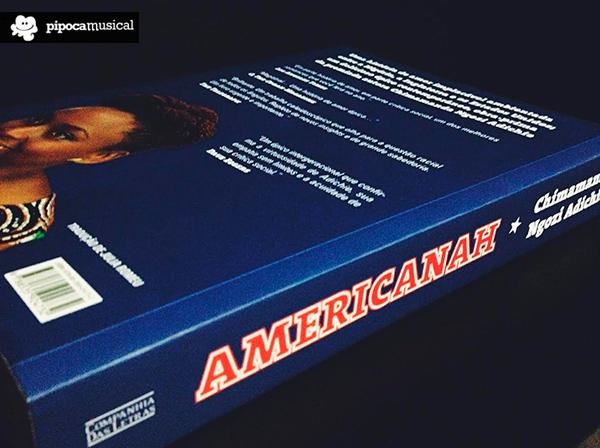 americanah livro companhia das letras, chimamanda, pipoca musical, bruna miranda