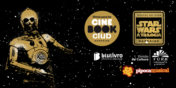 Cine Book Club Star Wars em Blumenau