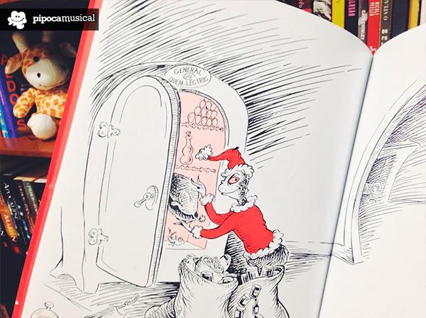dr seuss, livro conto grinch natal, pipoca musical