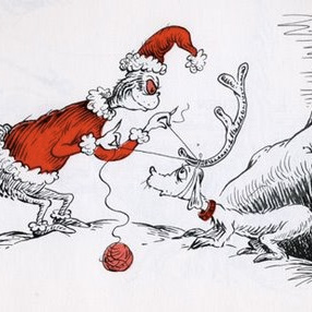 Grinch, o personagem mais famoso de Dr. Seuss