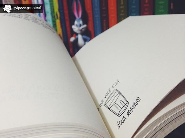 1 pagina cada vez, diario livro, paralela, pipoca musical