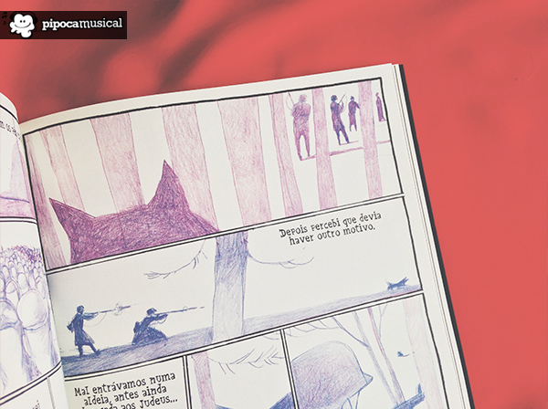quadrinhos sobre segunda guerra, kaputt, hq kaput, editora wmf martins fontes, pipoca musical