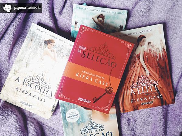 diario da selecao, selection series, selection diaries, kiera cass, books kiera cass, editora seguinte, pipoca musical