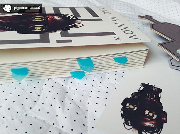 livro eu robo asimov, editora aleph, resenha, livros ficcao cientifica, pipoca musical