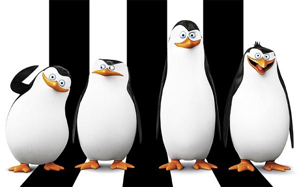 pinguins madagascar filme 2014 poster