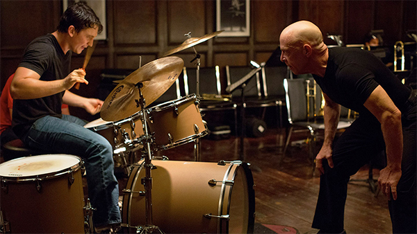 whiplash movie 2014, scene
