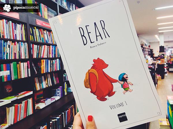 bear hq bianca pinheiro, pipoca musical, quadrinhos nacionais